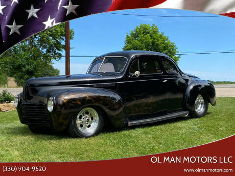 1940 Chrysler 5 WINDOW COUPE for sale at Ol Man Motors LLC in Louisville OH