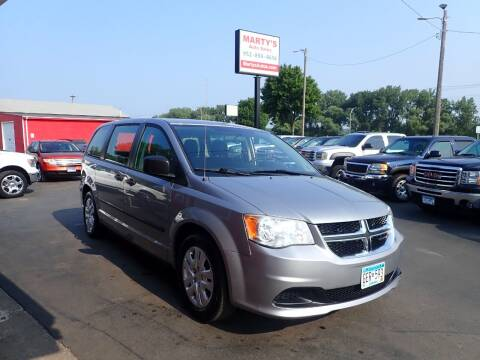 2014 Dodge Grand Caravan for sale at Marty's Auto Sales in Savage MN