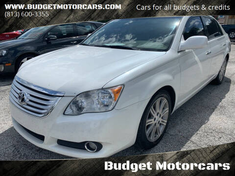 2008 Toyota Avalon for sale at Budget Motorcars in Tampa FL