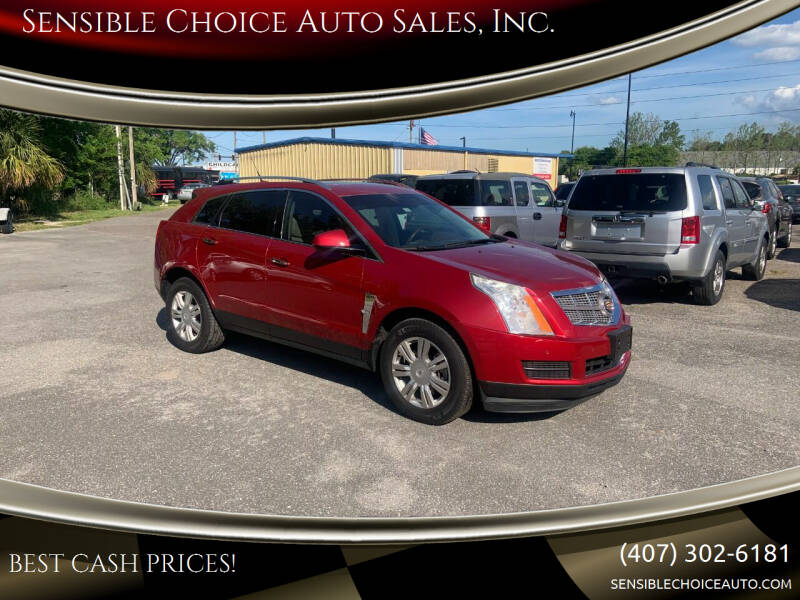 2010 Cadillac SRX for sale at Sensible Choice Auto Sales, Inc. in Longwood FL