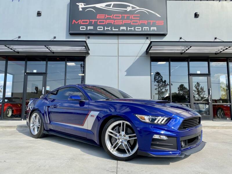 2015 Ford Mustang for sale at Exotic Motorsports of Oklahoma in Edmond OK