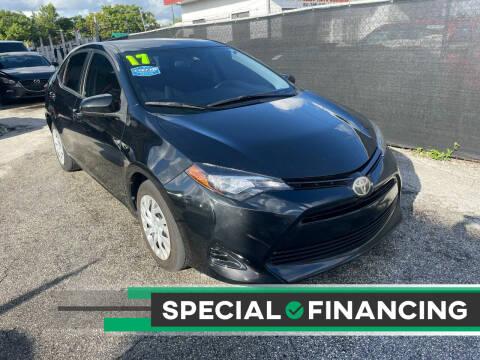 2017 Toyota Corolla for sale at Alma Car Sales in Miami FL