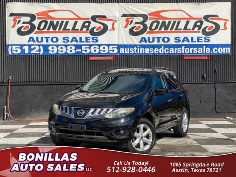 2009 Nissan Murano for sale at Bonillas Auto Sales in Austin TX