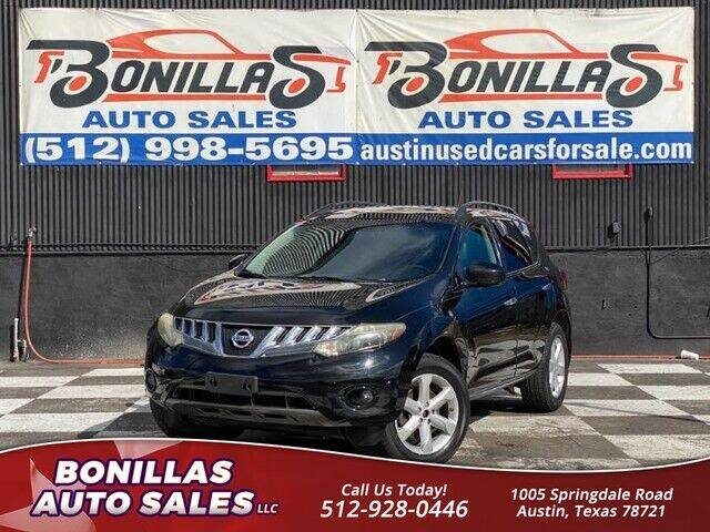 2009 Nissan Murano for sale at Bonillas Auto Sales in Austin TX