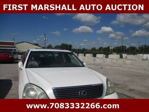 2003 Lexus LS 430 for sale at First Marshall Auto Auction in Harvey IL