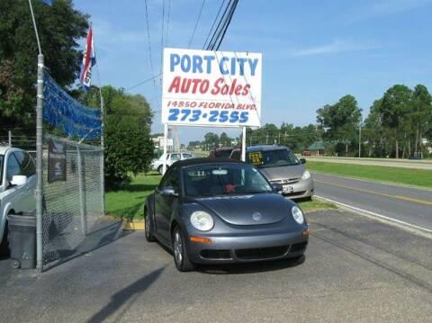 2006 Volkswagen New Beetle for sale at Port City Auto Sales in Baton Rouge LA