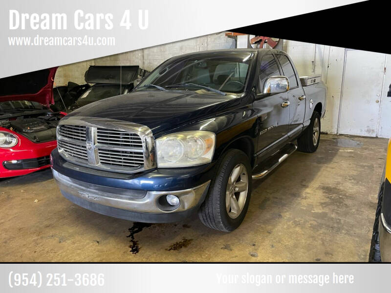 2007 Dodge Ram Pickup 1500 for sale at Dream Cars 4 U in Hollywood FL