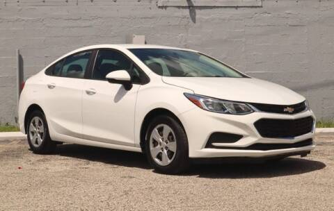 2018 Chevrolet Cruze for sale at No 1 Auto Sales in Hollywood FL