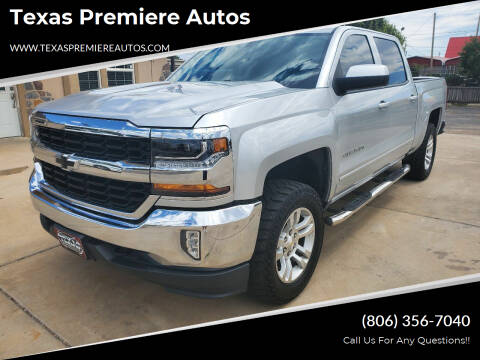 2017 Chevrolet Silverado 1500 for sale at Texas Premiere Autos in Amarillo TX