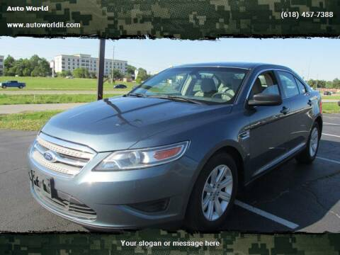 2010 Ford Taurus for sale at Auto World in Carbondale IL