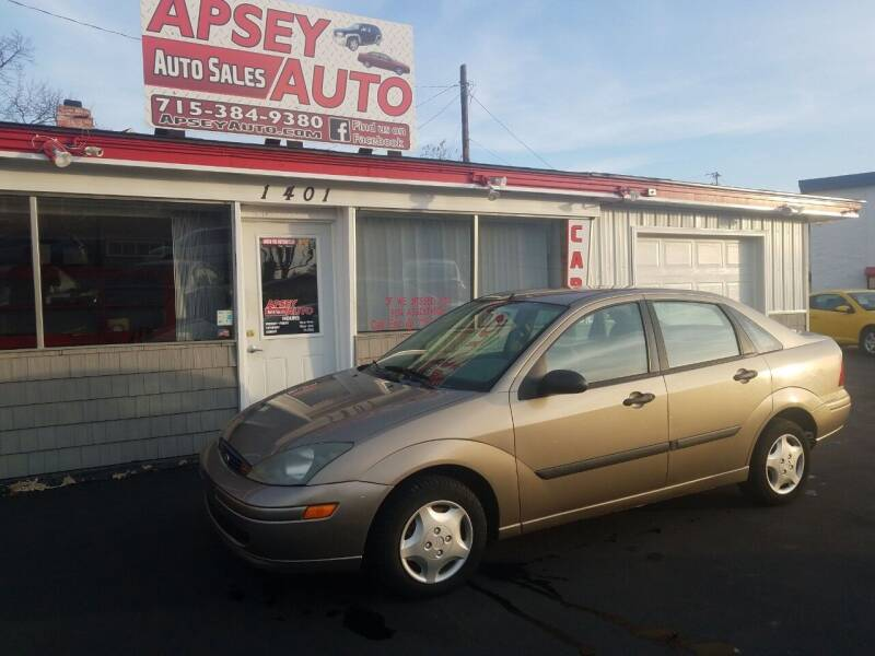 2004 Ford Focus for sale at Apsey Auto 2 in Marshfield WI