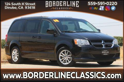 2014 Dodge Grand Caravan for sale at Borderline Classics in Dinuba CA