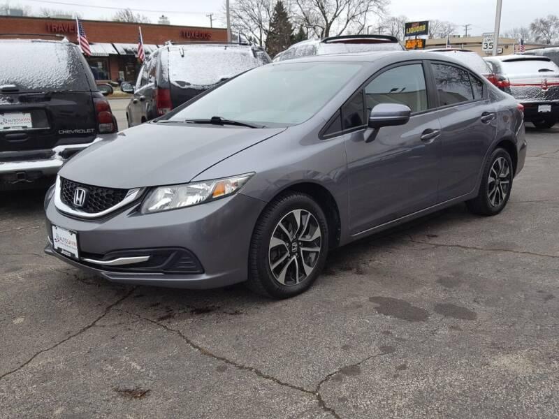 2014 Honda Civic for sale at AUTOSAVIN in Elmhurst IL