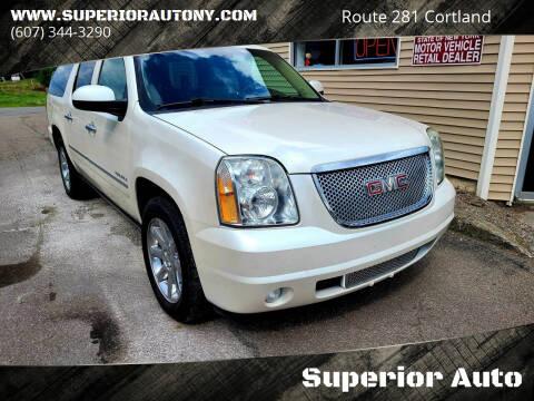 2011 GMC Yukon XL for sale at Superior Auto in Cortland NY