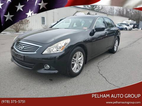 2010 Infiniti G37 Sedan for sale at Pelham Auto Group in Pelham NH