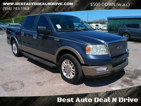 2005 Ford F-150 for sale at Best Auto Deal N Drive in Hollywood FL