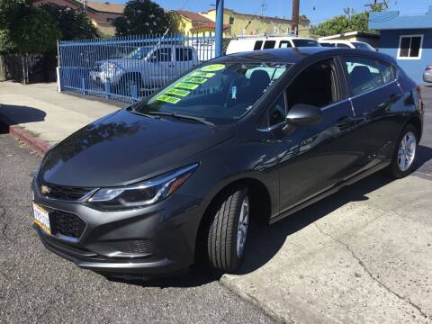 2017 Chevrolet Cruze for sale at LA PLAYITA AUTO SALES INC in South Gate CA
