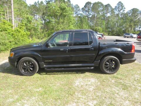 2001 Ford Explorer Sport Trac for sale at Ward's Motorsports in Pensacola FL