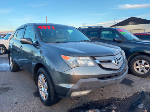 2008 Acura MDX for sale at BELOW BOOK AUTO SALES in Idaho Falls ID