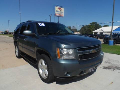 2008 Chevrolet Tahoe for sale at America Auto Inc in South Sioux City NE
