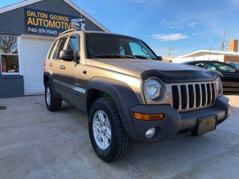 2004 Jeep Liberty for sale at Dalton George Automotive in Marietta OH