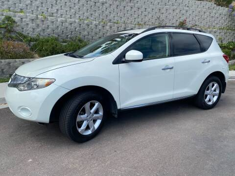 2009 Nissan Murano for sale at CALIFORNIA AUTO GROUP in San Diego CA