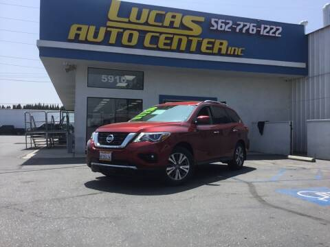 2018 Nissan Pathfinder for sale at Lucas Auto Center in South Gate CA
