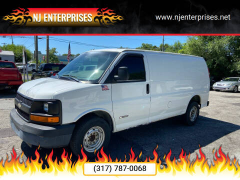 2004 Chevrolet Express Cargo for sale at NJ Enterprises in Indianapolis IN