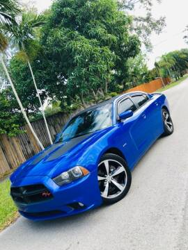 2013 Dodge Charger for sale at IRON CARS in Hollywood FL