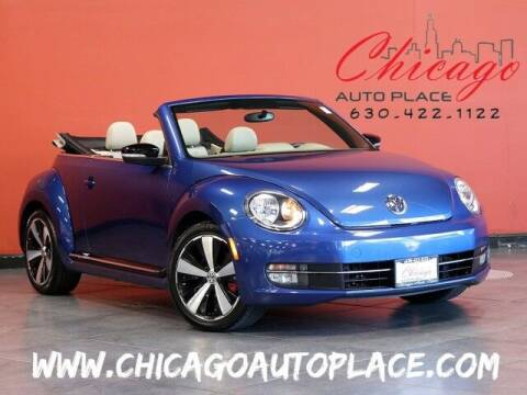 2013 Volkswagen Beetle Convertible for sale at Chicago Auto Place in Bensenville IL