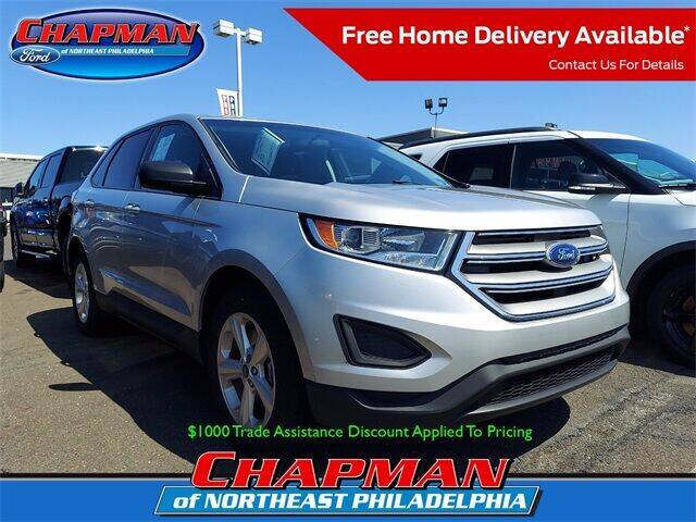 2017 Ford Edge for sale at CHAPMAN FORD NORTHEAST PHILADELPHIA in Philadelphia PA
