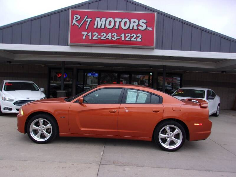2011 Dodge Charger for sale at RT Motors Inc in Atlantic IA