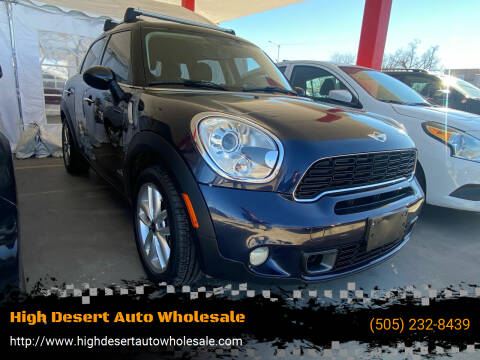 2011 MINI Cooper Countryman for sale at High Desert Auto Wholesale in Albuquerque NM