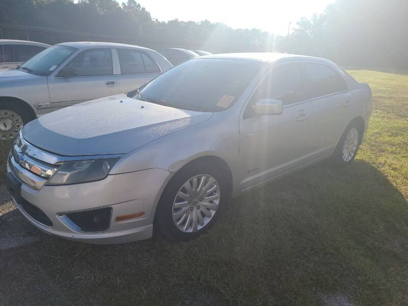 2010 Ford Fusion Hybrid for sale at Mott's Inc Auto in Live Oak FL