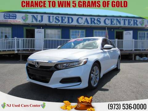 2018 Honda Accord for sale at New Jersey Used Cars Center in Irvington NJ
