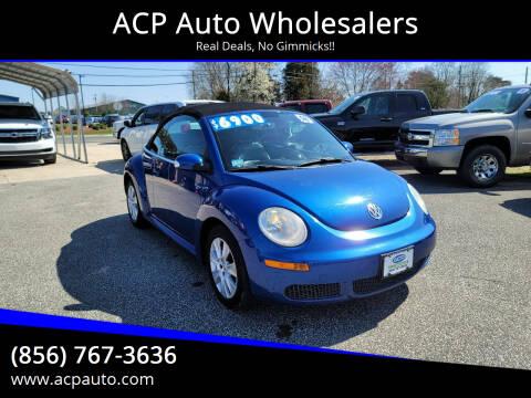 2008 Volkswagen New Beetle Convertible for sale at ACP Auto Wholesalers in Berlin NJ