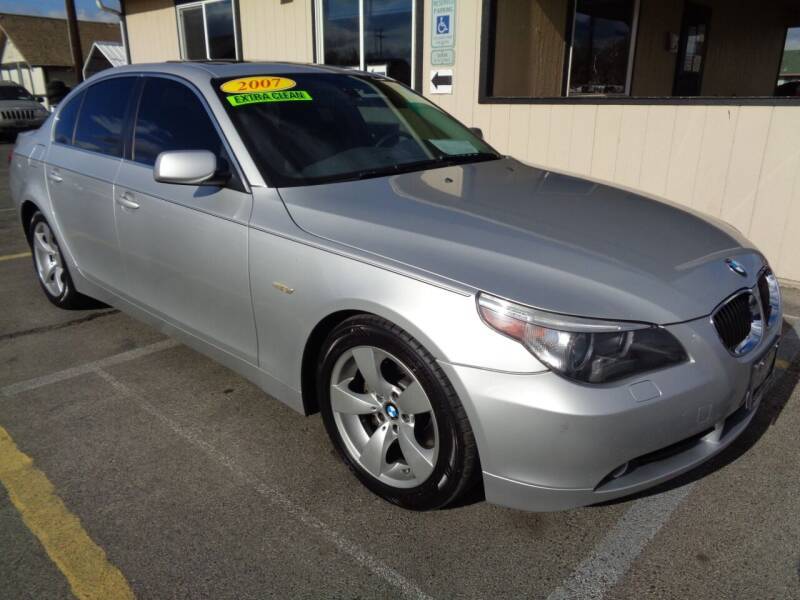 2007 BMW 5 Series for sale at BBL Auto Sales in Yakima WA