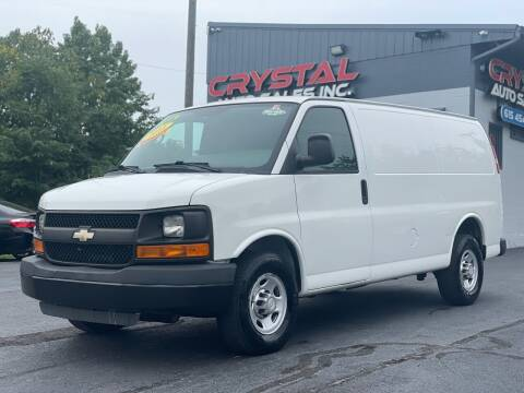 2011 Chevrolet Express Cargo for sale at Crystal Auto Sales Inc in Nashville TN