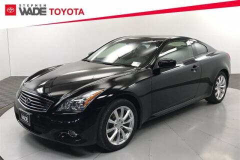 2013 Infiniti G37 Coupe for sale at Stephen Wade Pre-Owned Supercenter in Saint George UT
