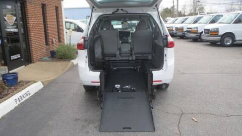 2017 Toyota Sienna for sale at Vans Of Great Bridge in Chesapeake VA