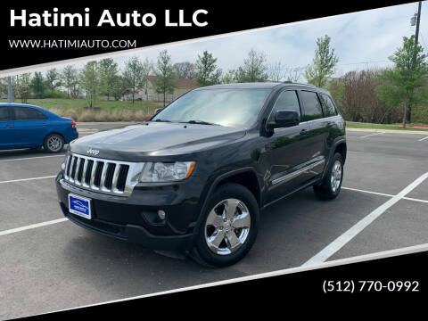 2012 Jeep Grand Cherokee for sale at Hatimi Auto LLC in Buda TX