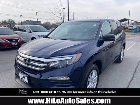 2018 Honda Pilot for sale at Hi-Lo Auto Sales in Frederick MD