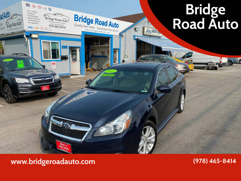2013 Subaru Legacy for sale at Bridge Road Auto in Salisbury MA