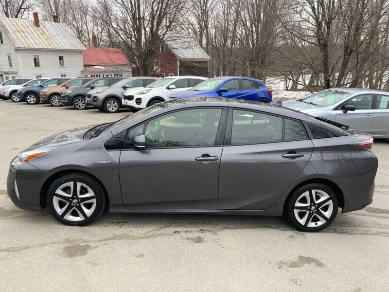 2017 Toyota Prius for sale at MICHAEL MOTORS in Farmington ME