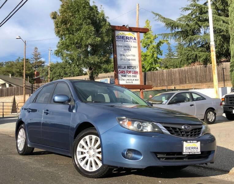 2009 Subaru Impreza for sale in Auburn, CA