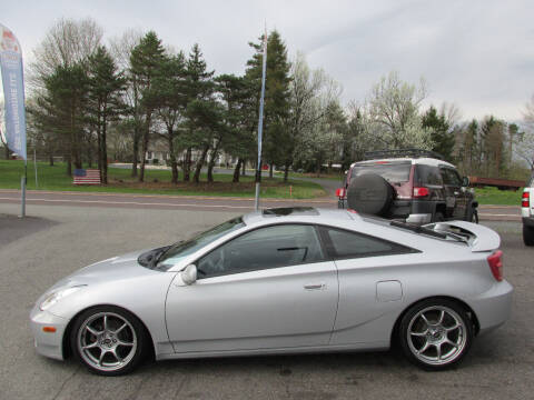 2003 Toyota Celica for sale at GEG Automotive in Gilbertsville PA