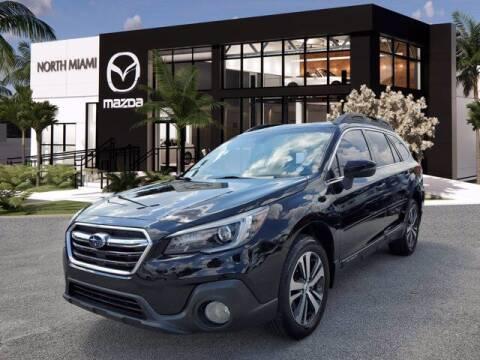 2019 Subaru Outback for sale at Mazda of North Miami in Miami FL