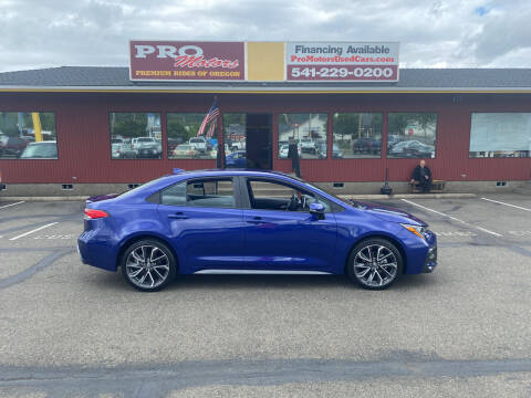 2020 Toyota Corolla for sale at Pro Motors in Roseburg OR