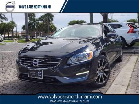 2018 Volvo S60 for sale at Volvo Cars North Miami in Miami FL