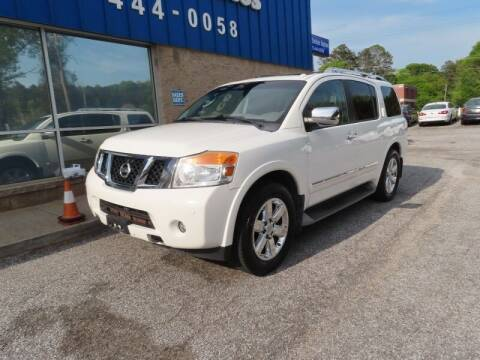 2012 Nissan Armada for sale at Southern Auto Solutions - 1st Choice Autos in Marietta GA